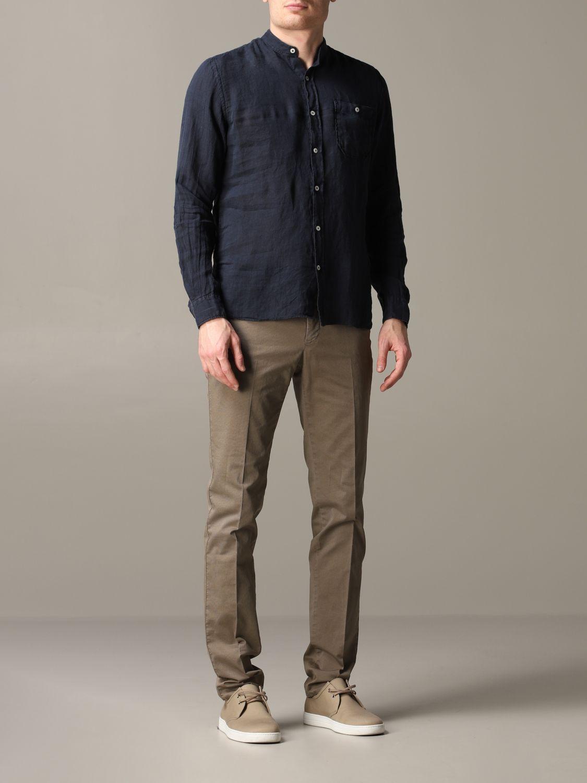 Shirt Woolrich: Shirt men Woolrich blue 2