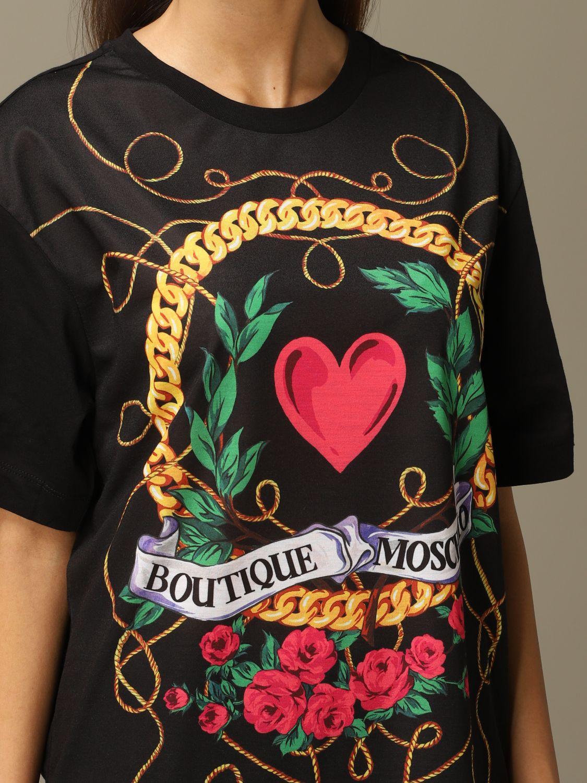 T-Shirt Boutique Moschino: T-shirt women Boutique Moschino black 5