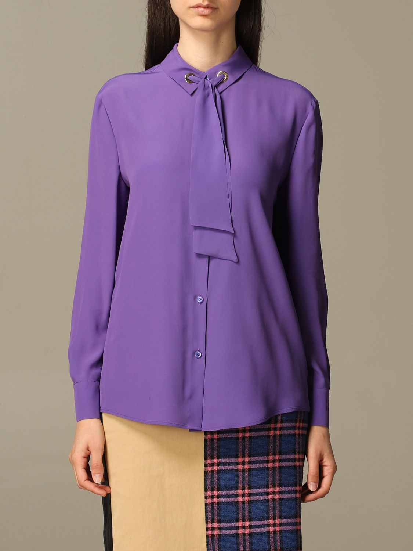 Shirt Boutique Moschino: Shirt women Boutique Moschino violet 1