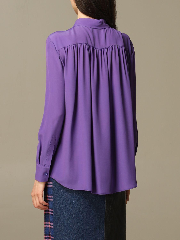 Shirt Boutique Moschino: Shirt women Boutique Moschino violet 3