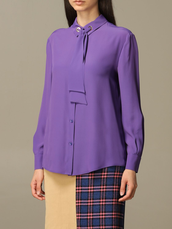 Shirt Boutique Moschino: Shirt women Boutique Moschino violet 4