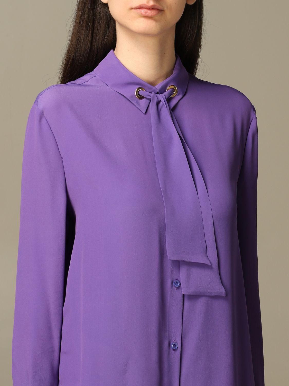 Shirt Boutique Moschino: Shirt women Boutique Moschino violet 5