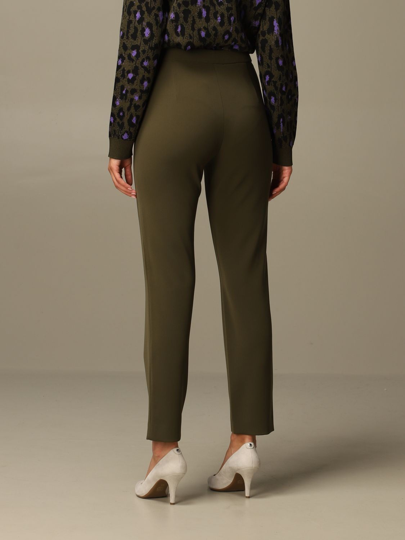 Trousers Boutique Moschino: Trousers women Boutique Moschino green 3