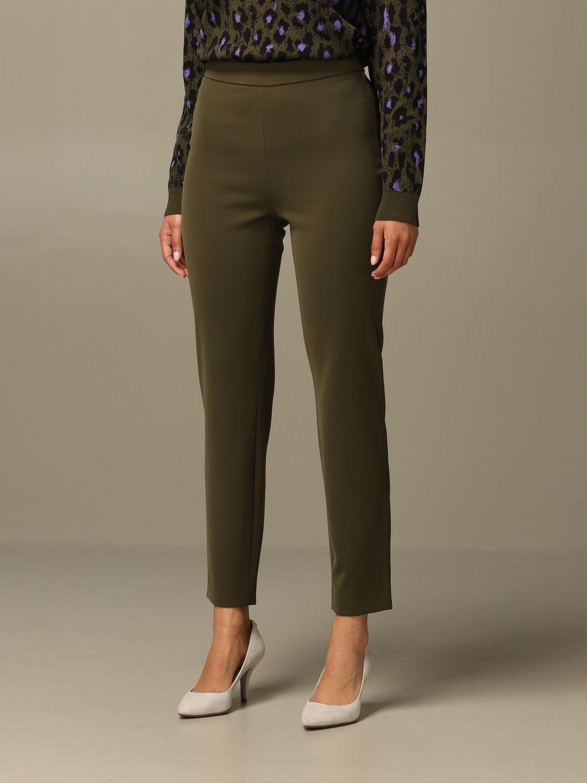 Trousers Boutique Moschino: Trousers women Boutique Moschino green 4