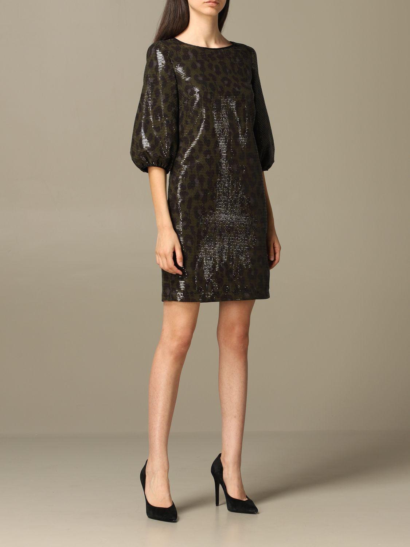 Dress Boutique Moschino: Dress women Boutique Moschino green 1