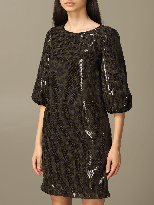 Dress Boutique Moschino: Dress women Boutique Moschino green 4