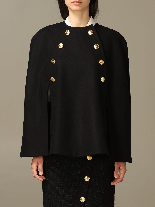 Cloak Boutique Moschino: Cloak women Boutique Moschino black 1