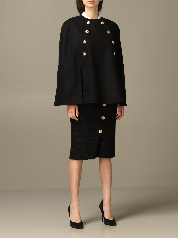 Cloak Boutique Moschino: Cloak women Boutique Moschino black 2