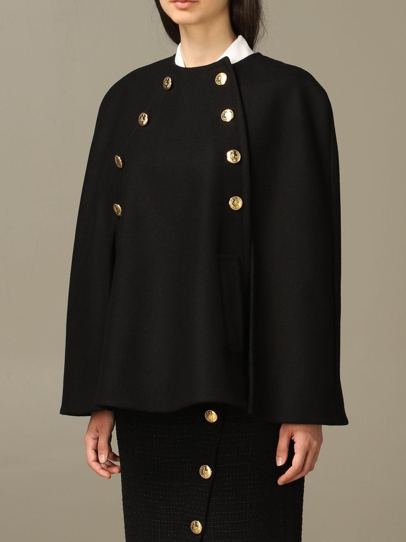 Cloak Boutique Moschino: Cloak women Boutique Moschino black 4