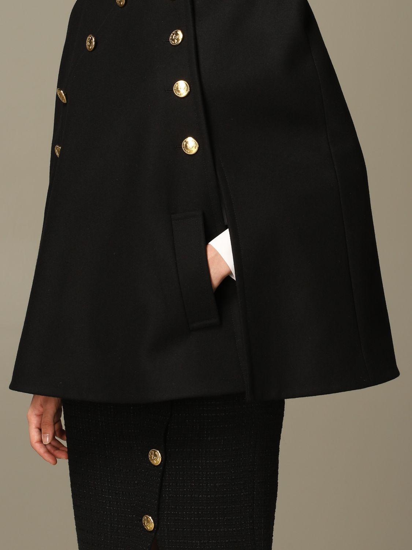 Cloak Boutique Moschino: Cloak women Boutique Moschino black 5