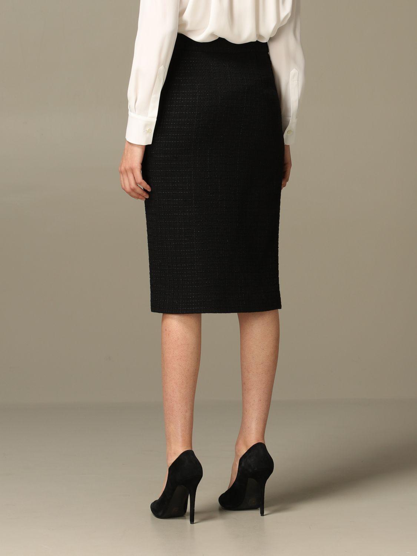 Skirt Boutique Moschino: Skirt women Boutique Moschino black 3
