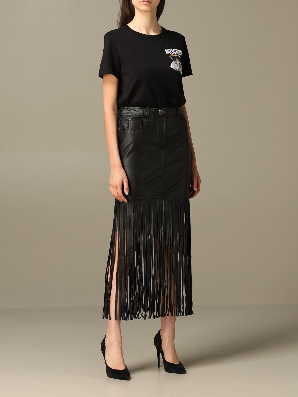 Skirt Boutique Moschino: Skirt women Boutique Moschino black 2