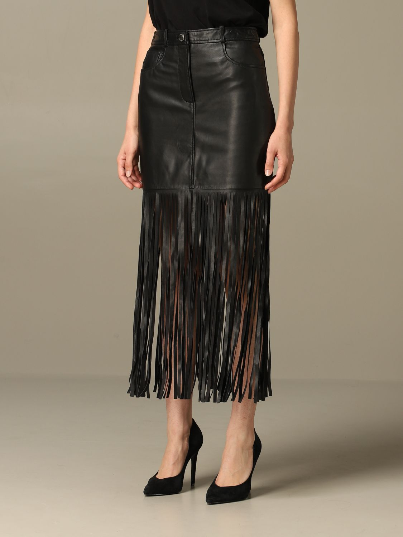Skirt Boutique Moschino: Skirt women Boutique Moschino black 4