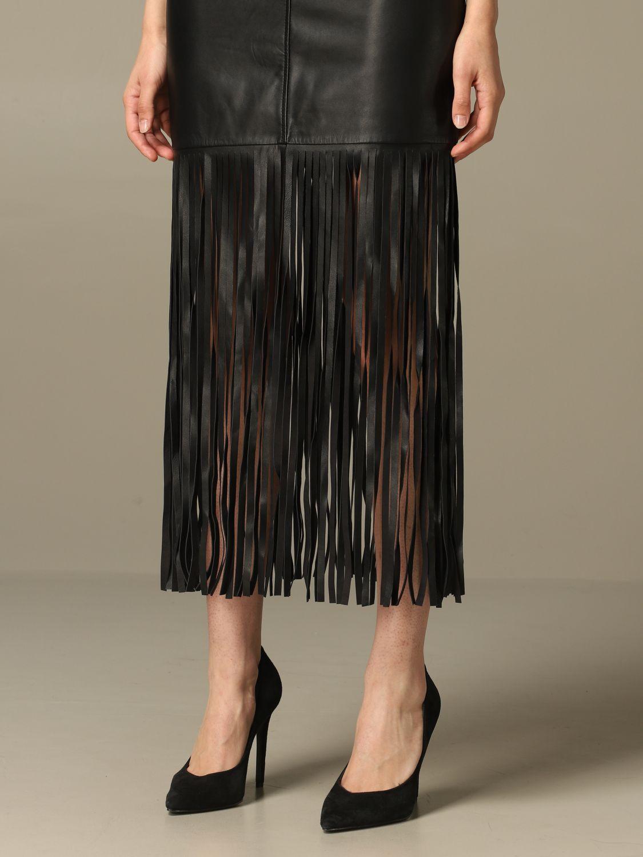 Skirt Boutique Moschino: Skirt women Boutique Moschino black 5