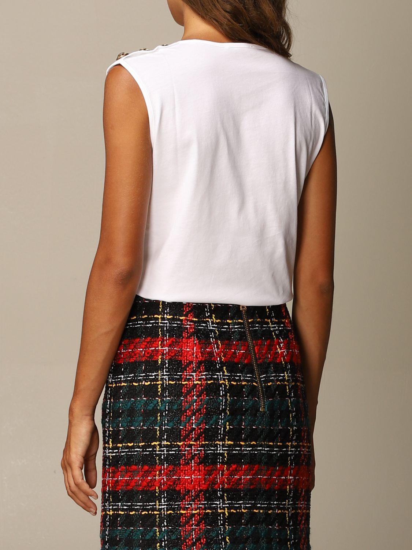 T-Shirt Balmain: T-shirt women Balmain white 3
