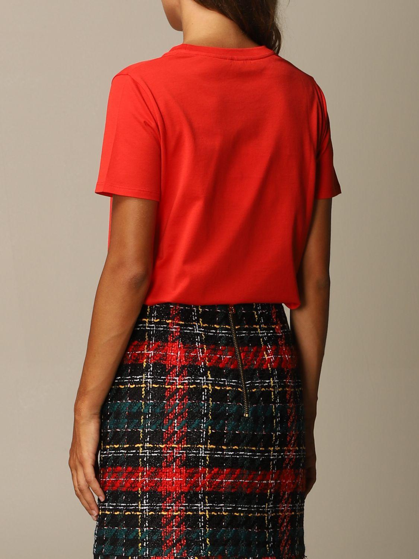 T恤 Balmain: T恤 女士 Balmain 红色 3