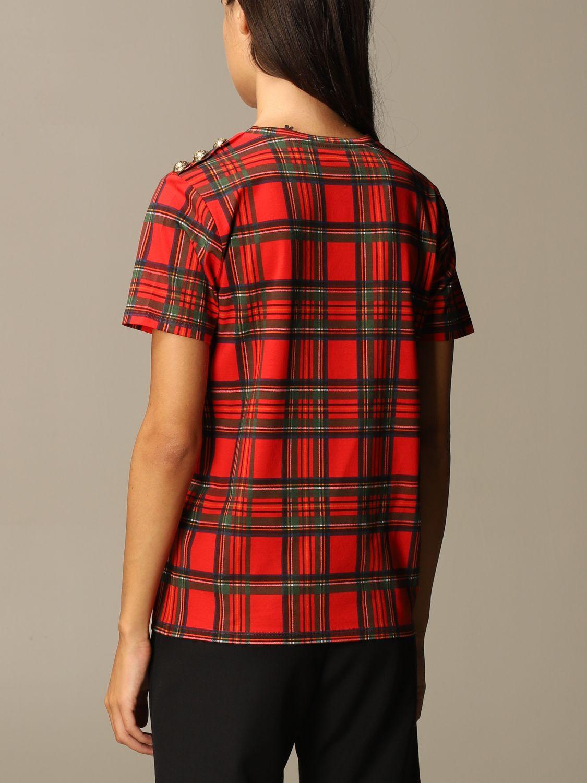 T-Shirt Balmain: T-shirt women Balmain red 3