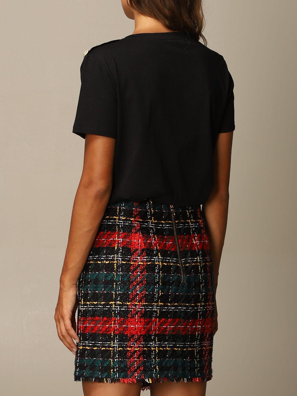 T-Shirt Balmain: T-shirt women Balmain black 3