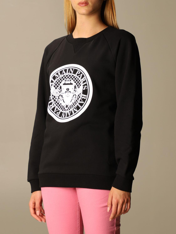 Sweatshirt Balmain: Sweatshirt women Balmain black 3