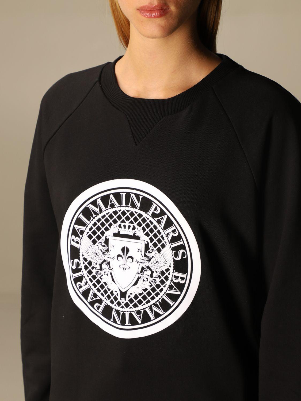 Sweatshirt Balmain: Sweatshirt women Balmain black 4