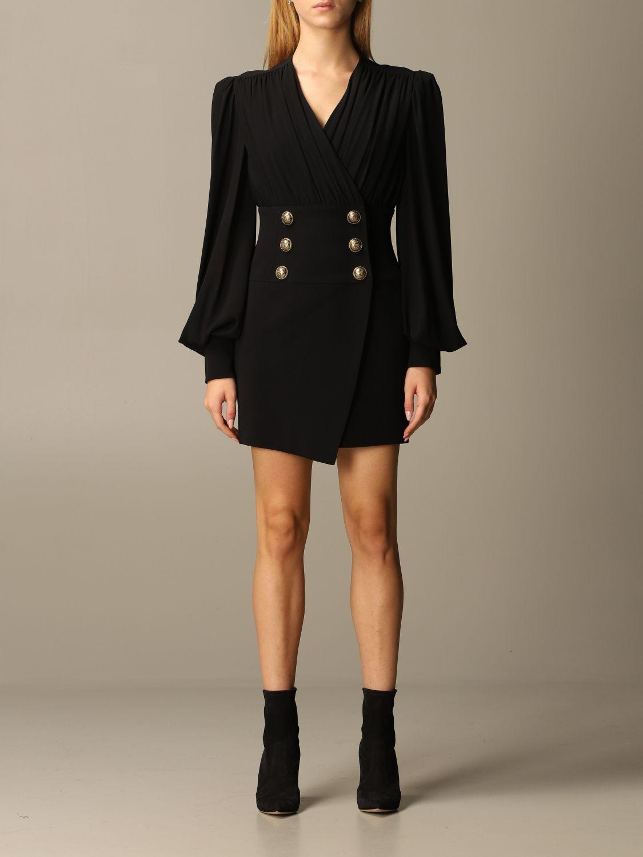 Dress Balmain: Dress women Balmain black 1