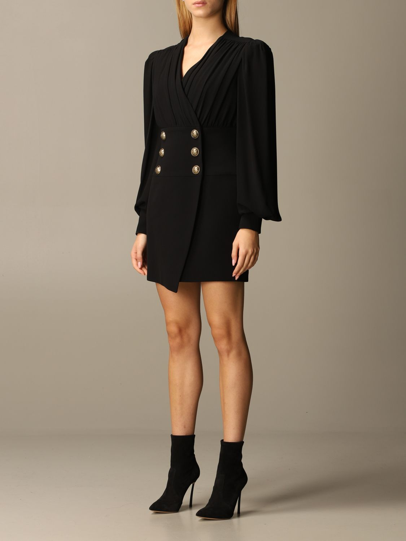 Dress Balmain: Dress women Balmain black 3
