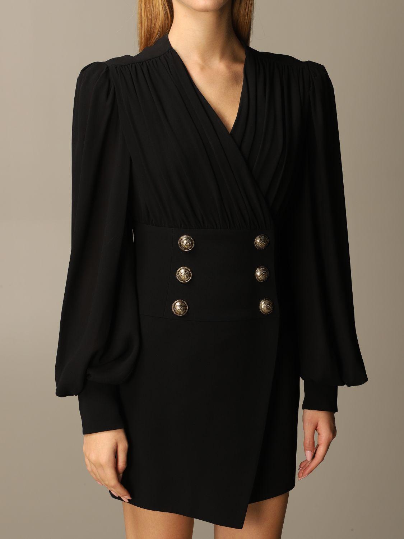Dress Balmain: Dress women Balmain black 4