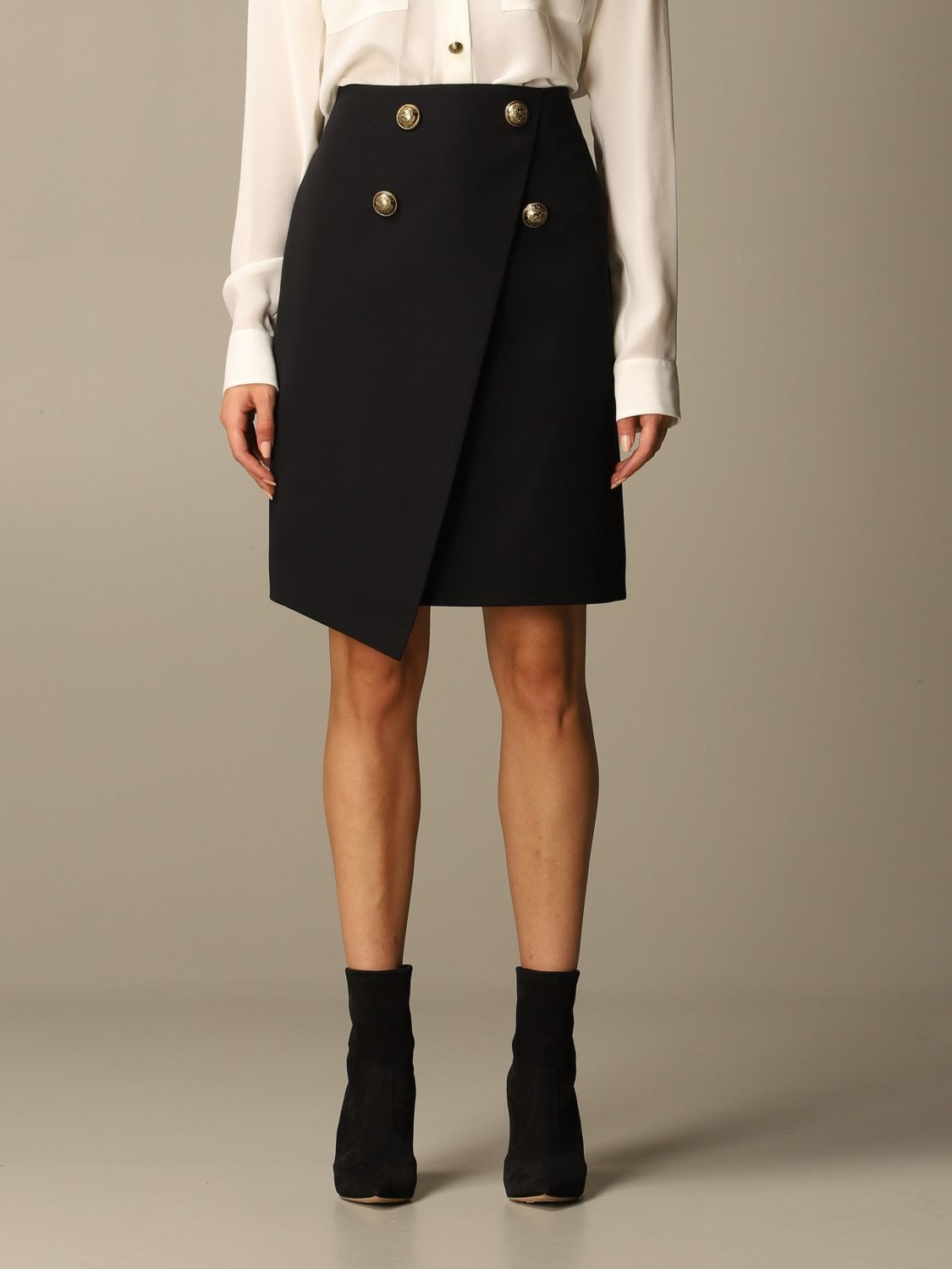 Skirt Balmain: Skirt women Balmain black 1