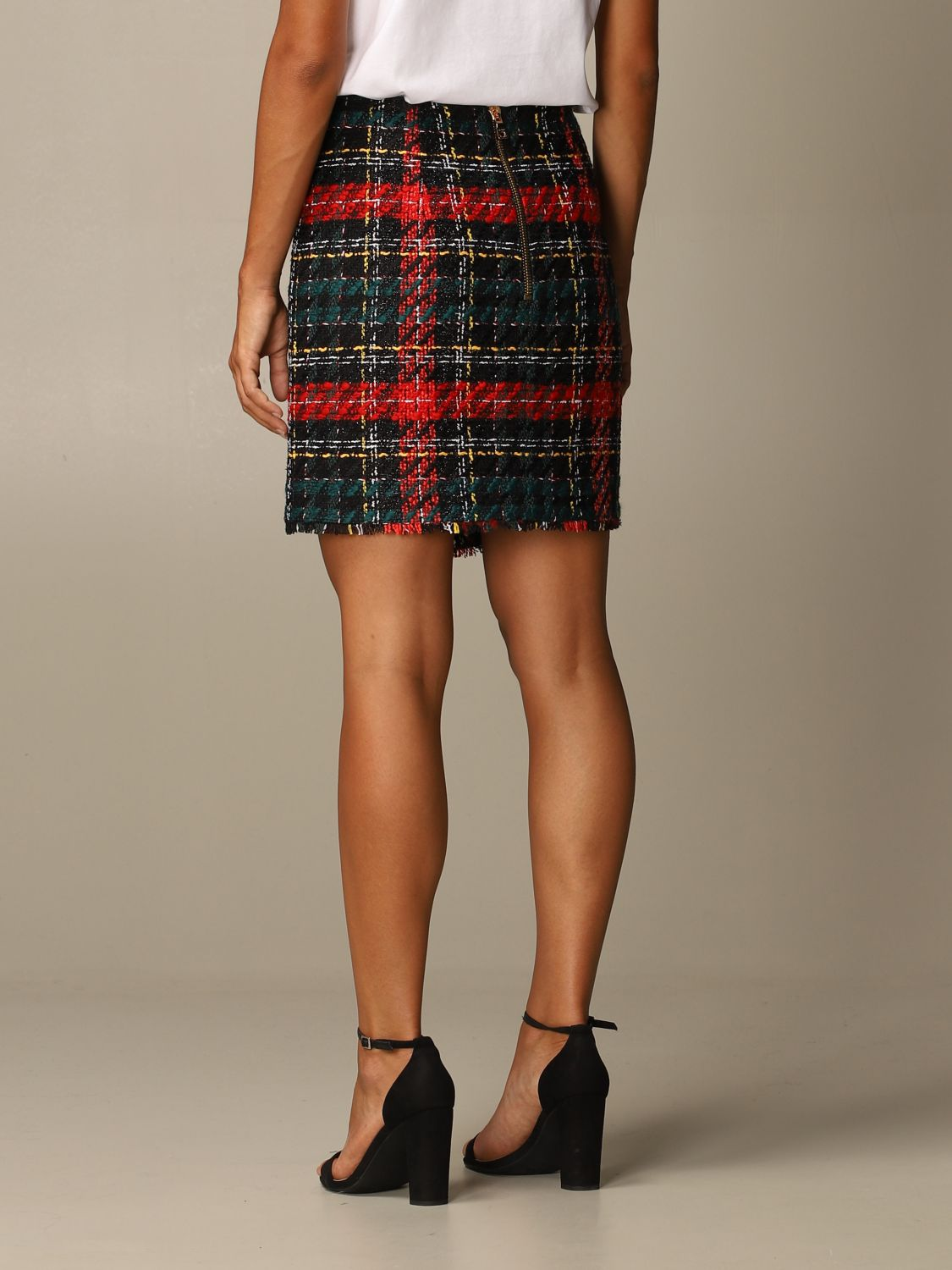 Skirt Balmain: Skirt women Balmain red 3
