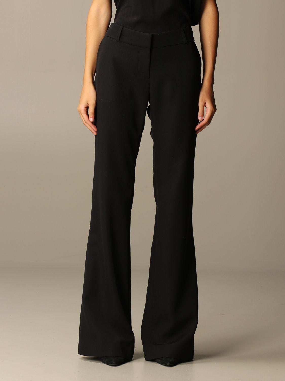 Trousers Balmain: Trousers women Balmain black 1