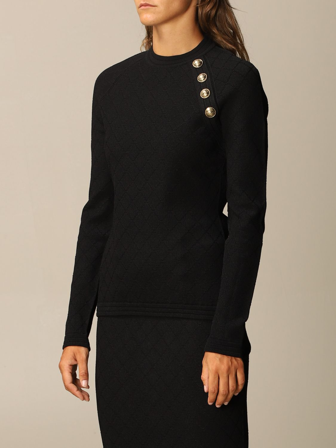 Jumper Balmain: Jumper women Balmain black 4
