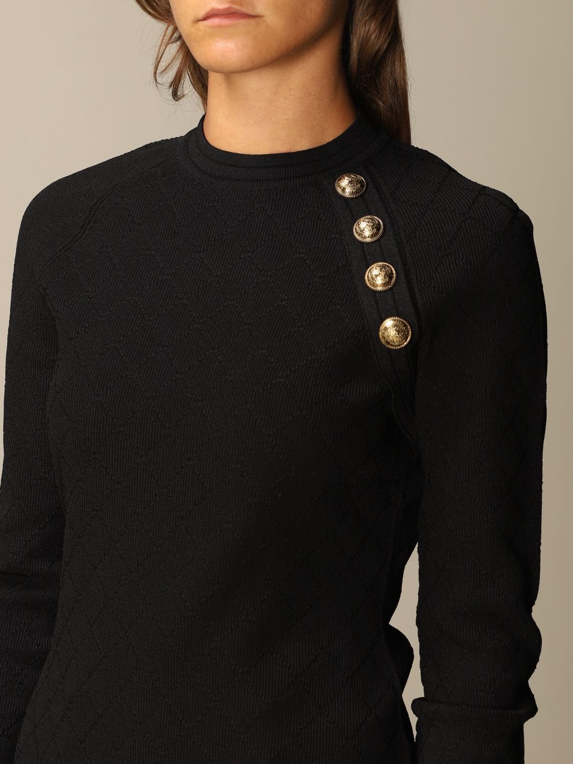 Jumper Balmain: Jumper women Balmain black 5