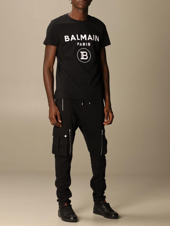 Футболка Balmain: Футболка Мужское Balmain черный 2