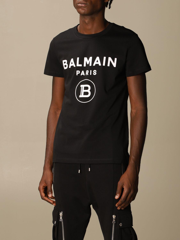 Футболка Balmain: Футболка Мужское Balmain черный 4