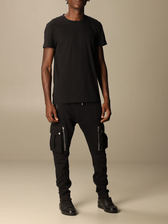 T-shirt Balmain: T-shirt men Balmain black 2