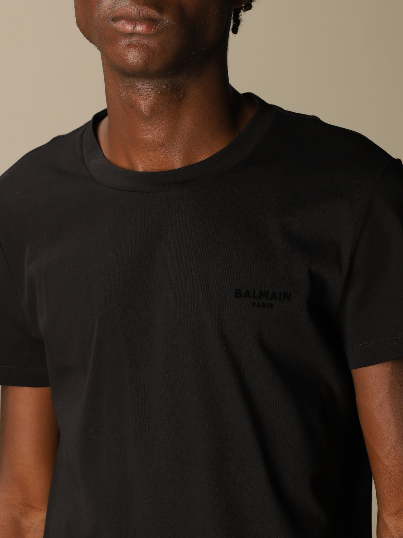 T-shirt Balmain: T-shirt men Balmain black 5
