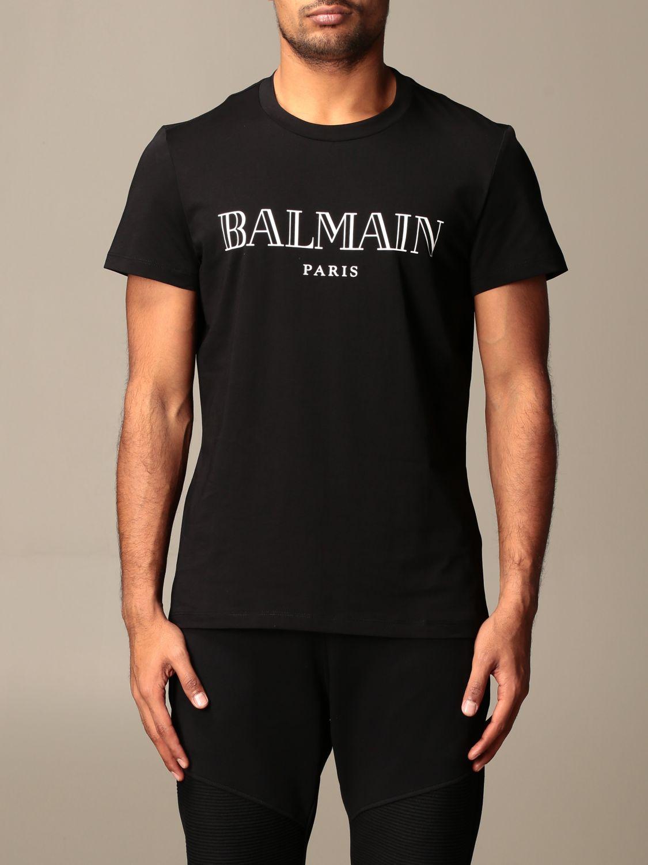 T-shirt Balmain: T-shirt men Balmain black 1