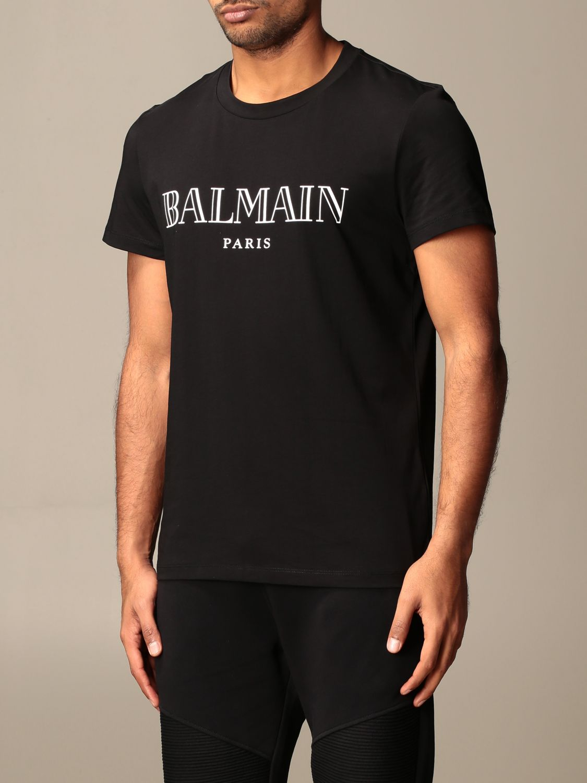 T-shirt Balmain: T-shirt men Balmain black 4