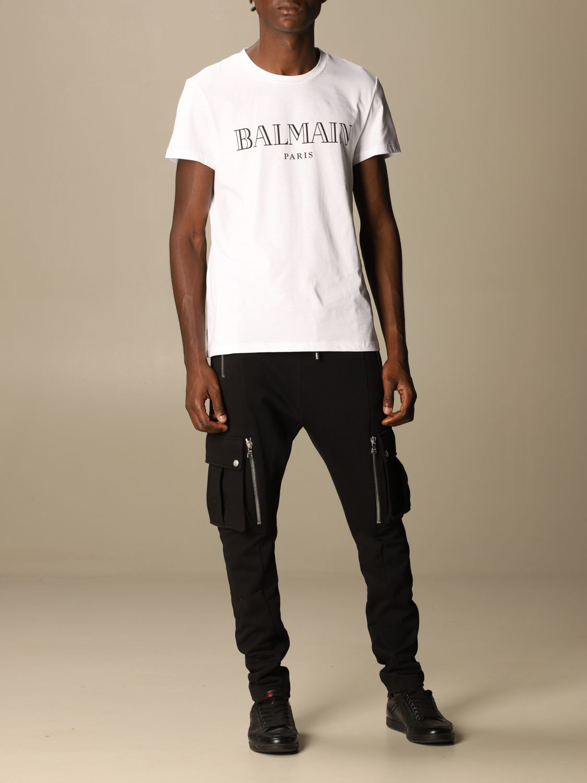 T-shirt Balmain: T-shirt men Balmain white 2
