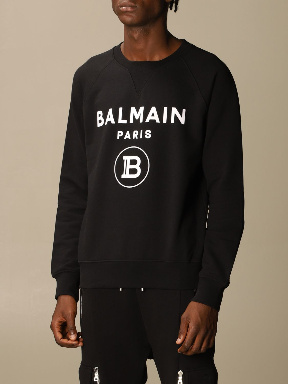 Sweatshirt Balmain: Sweatshirt men Balmain black 4