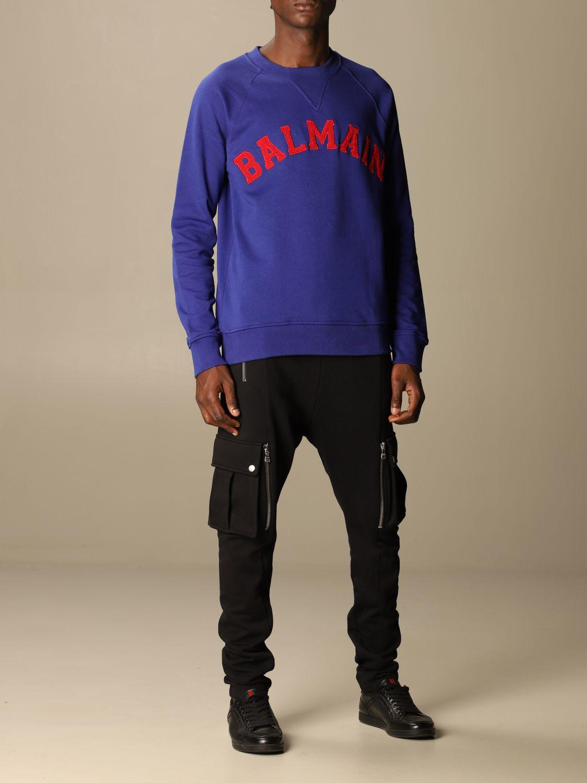 Sweatshirt Balmain: Sweatshirt herren Balmain blau 2