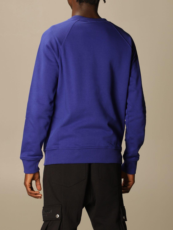 Толстовка Balmain: Толстовка Мужское Balmain синий 3