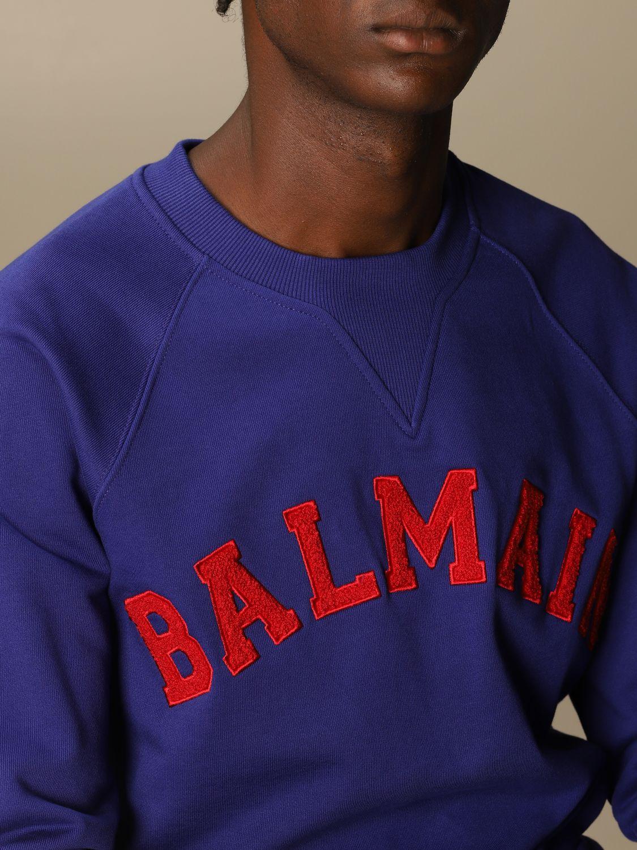 Sweatshirt Balmain: Sweatshirt herren Balmain blau 5