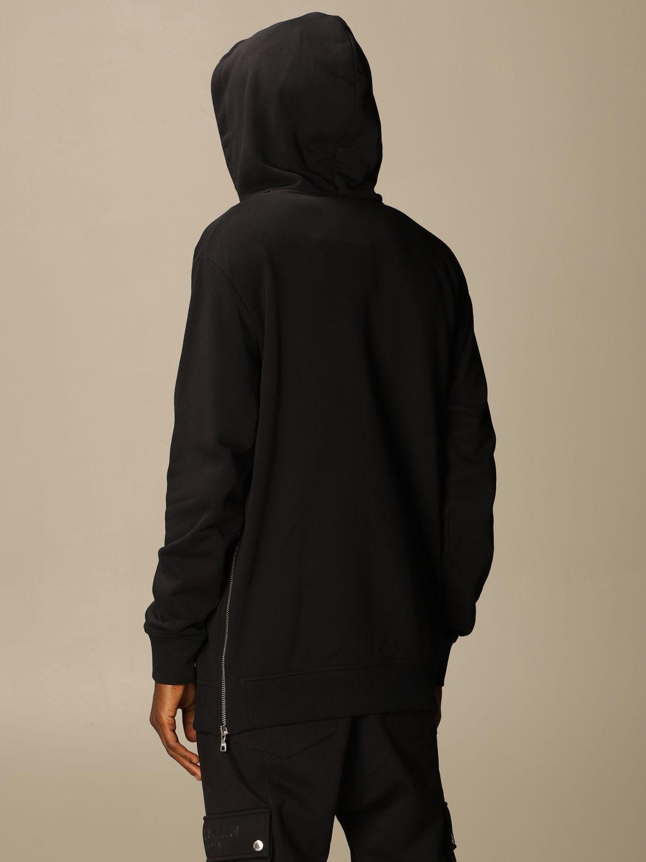 Толстовка Balmain: Толстовка Мужское Balmain черный 3
