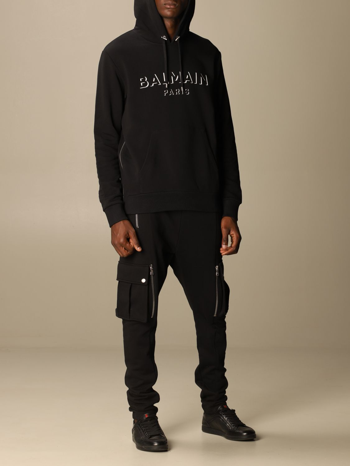 Sweatshirt Balmain: Sweatshirt men Balmain black 2