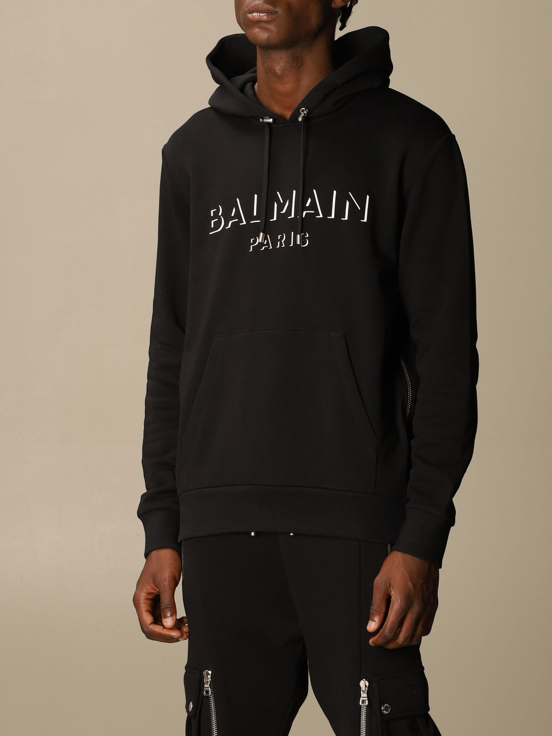 Sweatshirt Balmain: Sweatshirt men Balmain black 4