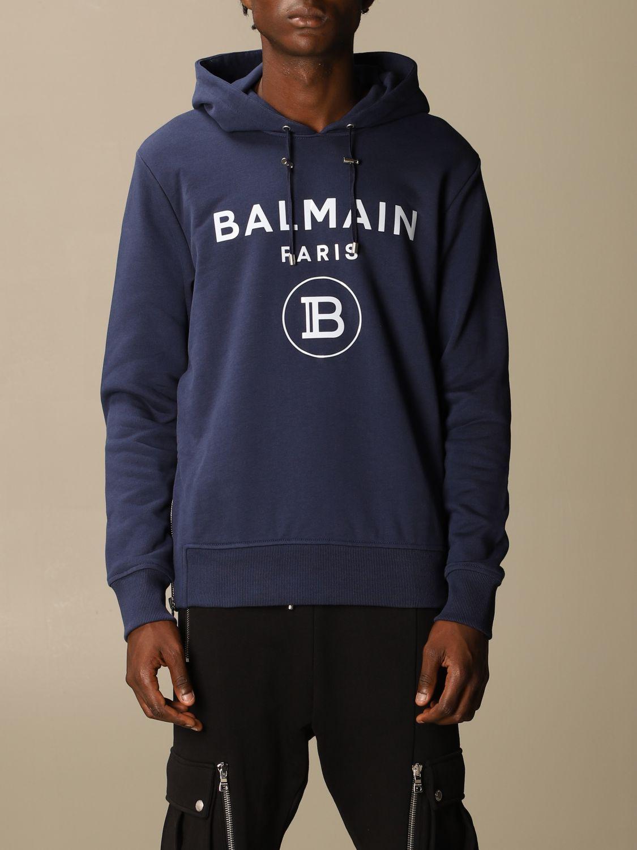 Sweatshirt Balmain: Sweatshirt men Balmain blue 1