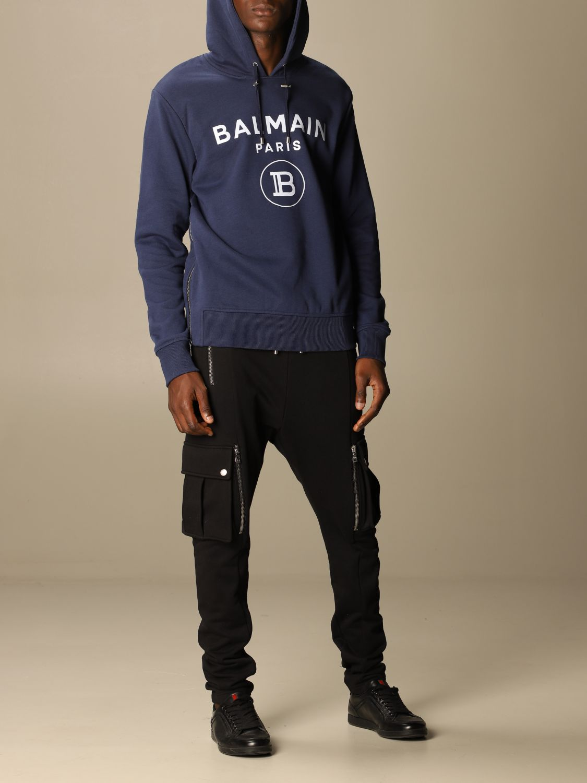 Sweatshirt Balmain: Sweatshirt men Balmain blue 2