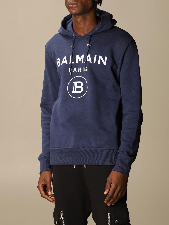 Sweatshirt Balmain: Sweatshirt men Balmain blue 4