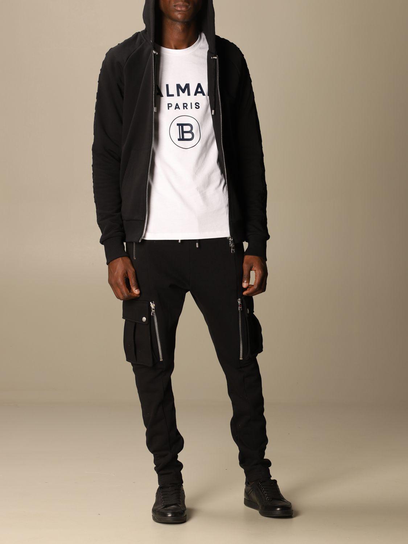 Sweatshirt Balmain: Sweatshirt herren Balmain schwarz 2